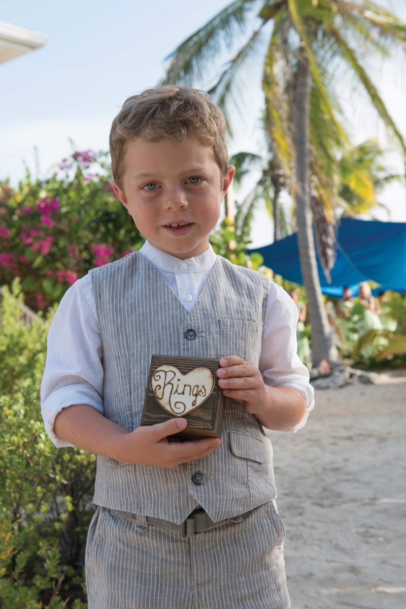 Kid with ring box